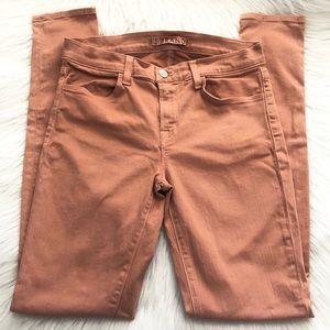 J Brand Super Skinny Jeans in Tigers Eye Size 28